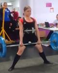 Heidi Heikkinen sivusi ennätystään 110kg:n maastavedollaan